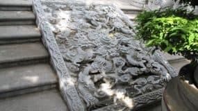 Chiếu rồng đá đẹp – Tinh hoa người thợ làm đá Ninh Bình