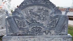 Mẫu cuốn thư đá đẹp được làm tại Ninh Vân – Ninh Bình