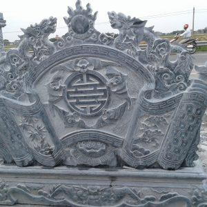 Cuốn thư đá Ninh Bình