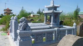 Lăng mộ đá Ninh Bình: Mẫu mộ đá đẹp làm từ đá tự nhiên