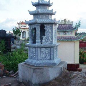 mộ lục giác đá
