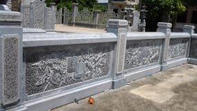Những mẫu lan can đá đẹp được làm tại Ninh Vân – Ninh Bình
