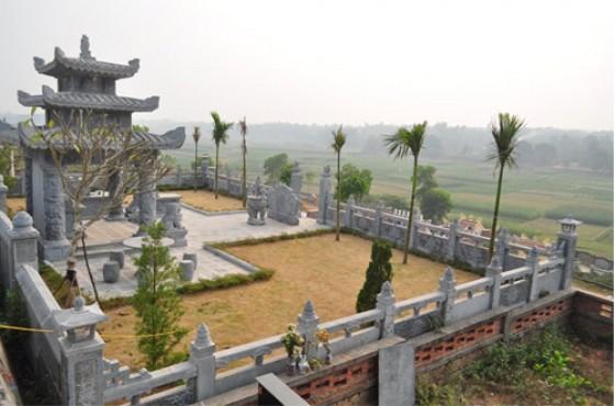 khu lăng mộ đá đẹp