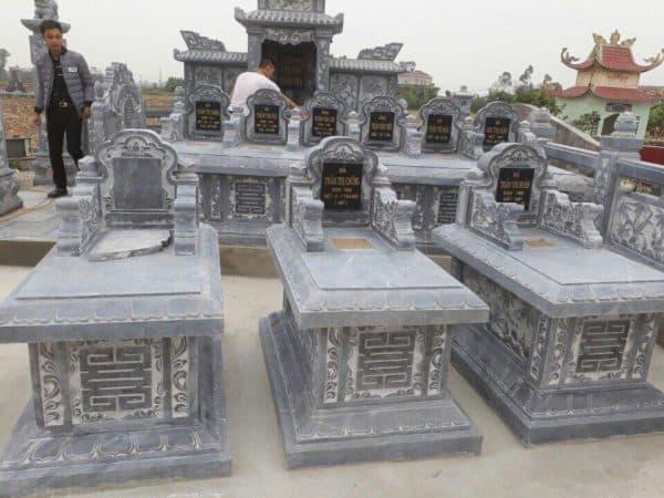 khu lăng mộ đá tại Lạng Sơn