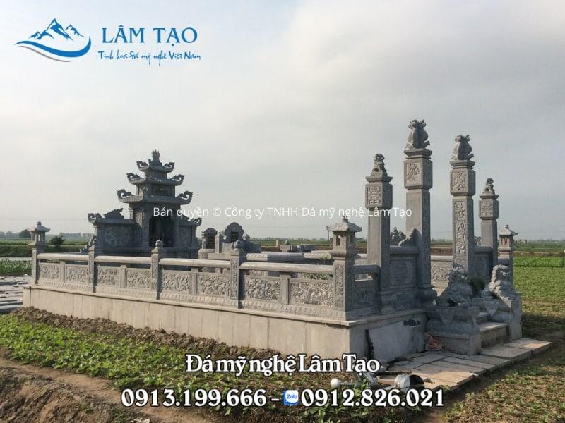 Khu lăng mộ đá xanh Thanh Hóa