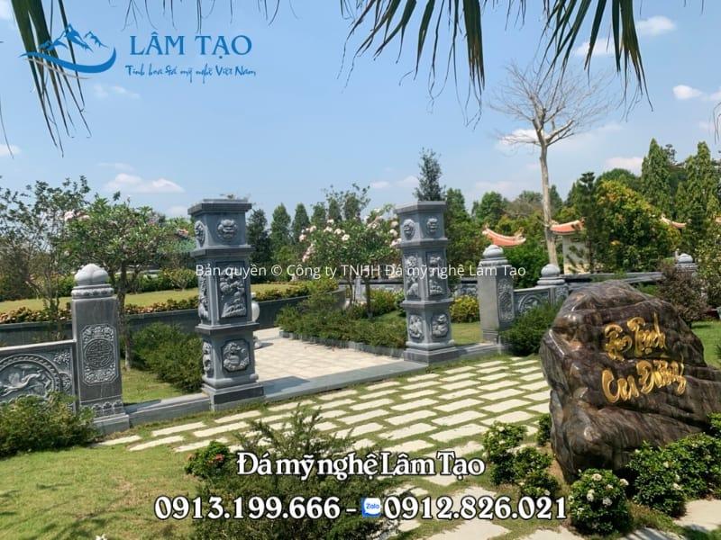 Khu lăng mộ đá Cao Đường - Thiết kế & thi công bởi Công ty TNHH Đá mỹ nghệ Lâm Tạo