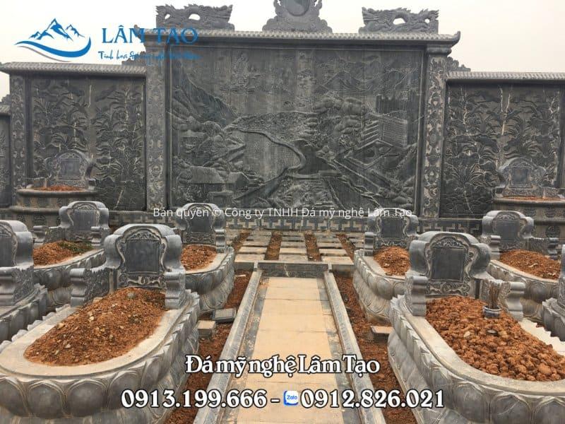 Khu lăng mộ đá tại Nghệ An