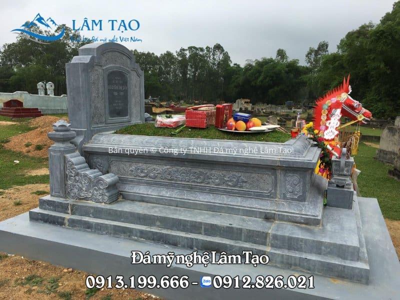 Mẫu mộ Tam Sơn tựa ngai đẹp lắp tại Quảng Bình