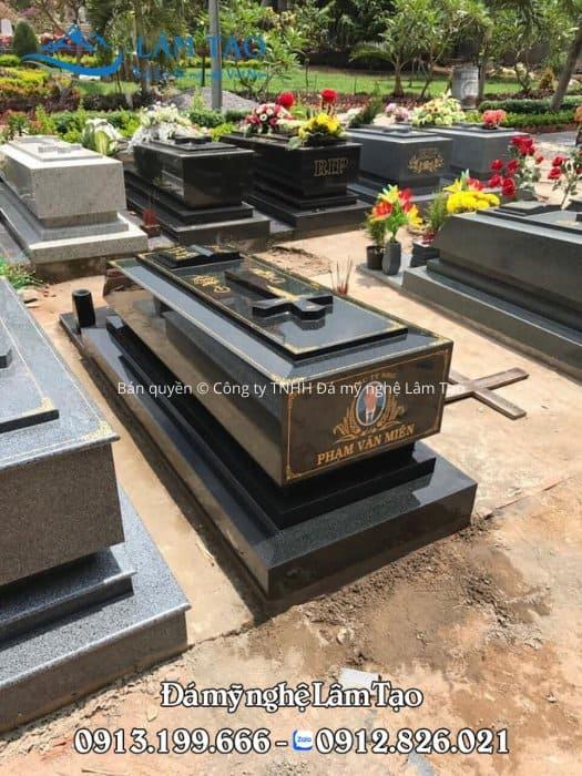 Mẫu mộ Granite công giáo đẹp đẳng cấp, sang trọng