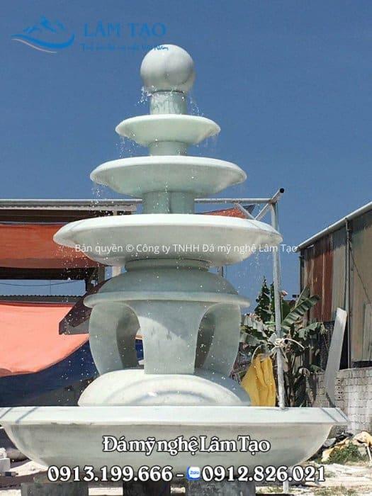 Mẫu đài phun nước đẹp to, cao phù hơp trong các công ty lớn tại Việt Nam
