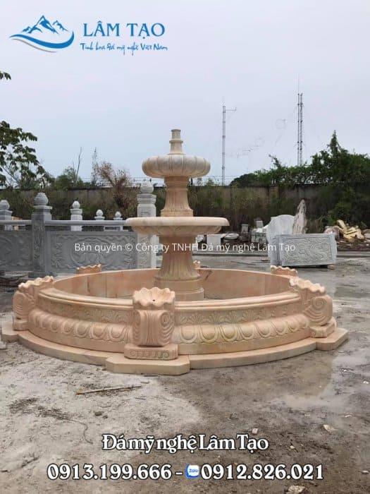 Thiết kế, thi công trọn gói đài phun nước cho công ty, doanh nghiệp trên toàn quốc