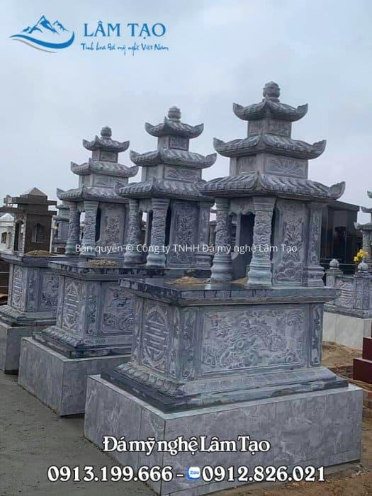 hình ảnh mộ đá ba mái Ninh Bình