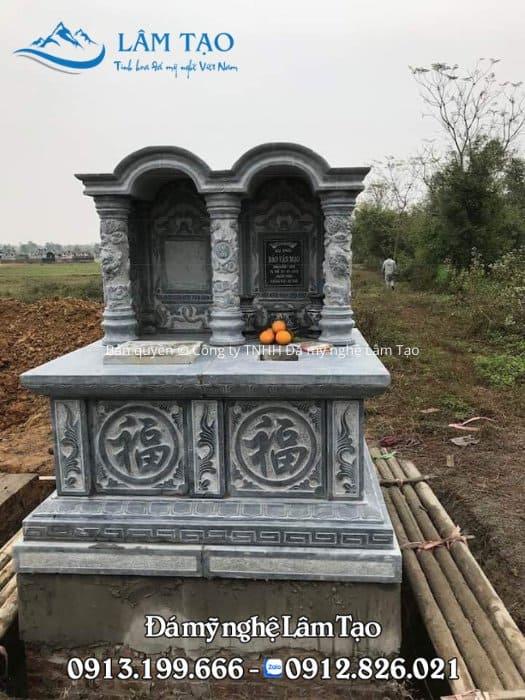 Mộ đá đôi mang ý nghĩa sâu sắc trong phong tục, văn hóa nặng tình nặng nghĩa của người con đất Việt