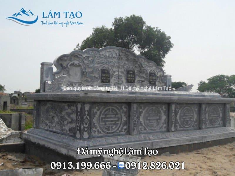 Đặt làm mộ đôi bằng đá tại Bình Định