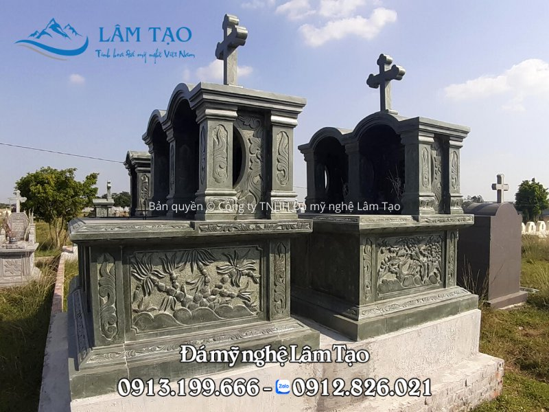 giá mộ đá công giáo đẹp