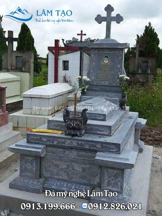 báo giá mộ đá công giáo đẹp
