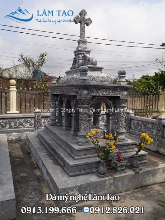 giá mộ đá công giáo Thanh Hóa