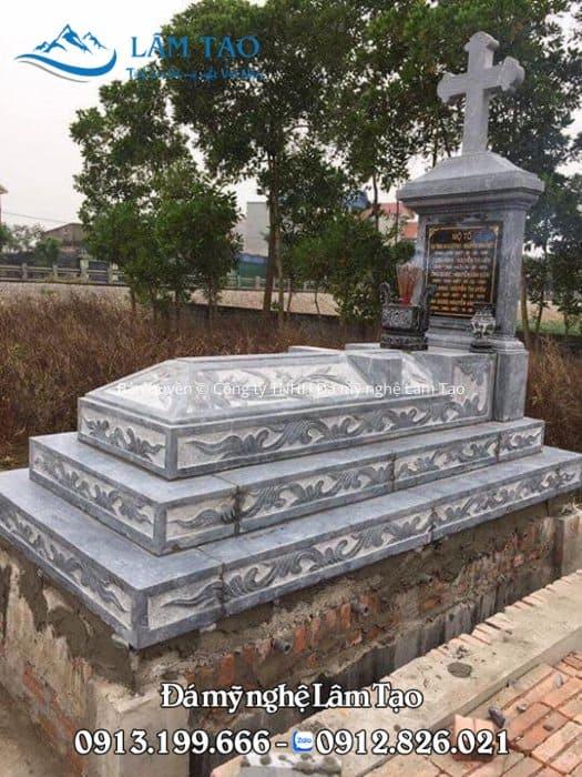 báo giá mộ đá công giáo Ninh Bình