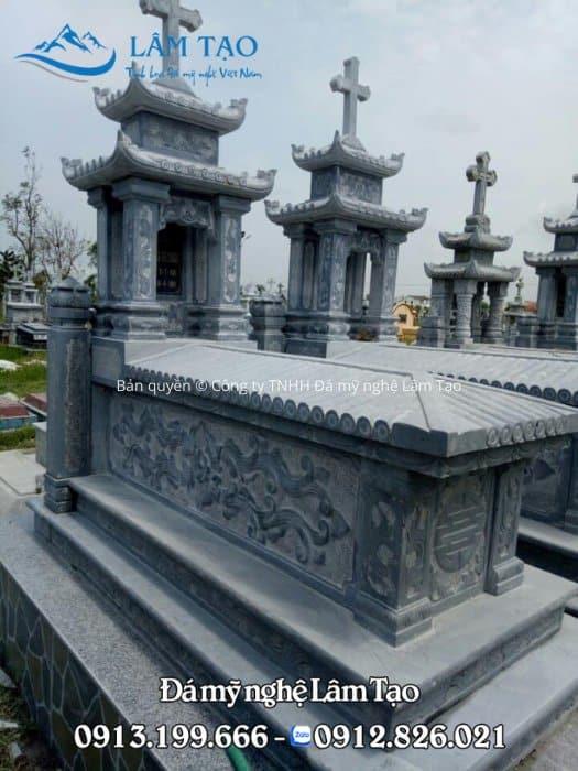 Mẫu mộ công giáo hai mái đẹp nhất năm 2021