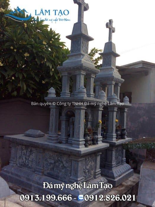 mẫu mộ đá công giáo giá rẻ