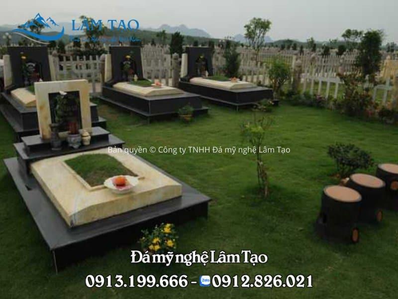 báo giá mộ đá granite Thanh Hóa