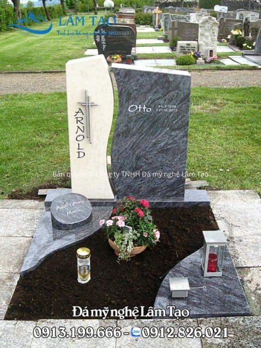 hình ảnh mộ đá granite Thanh Hóa