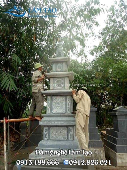 Thi công mộ tháp tại Hà Nội