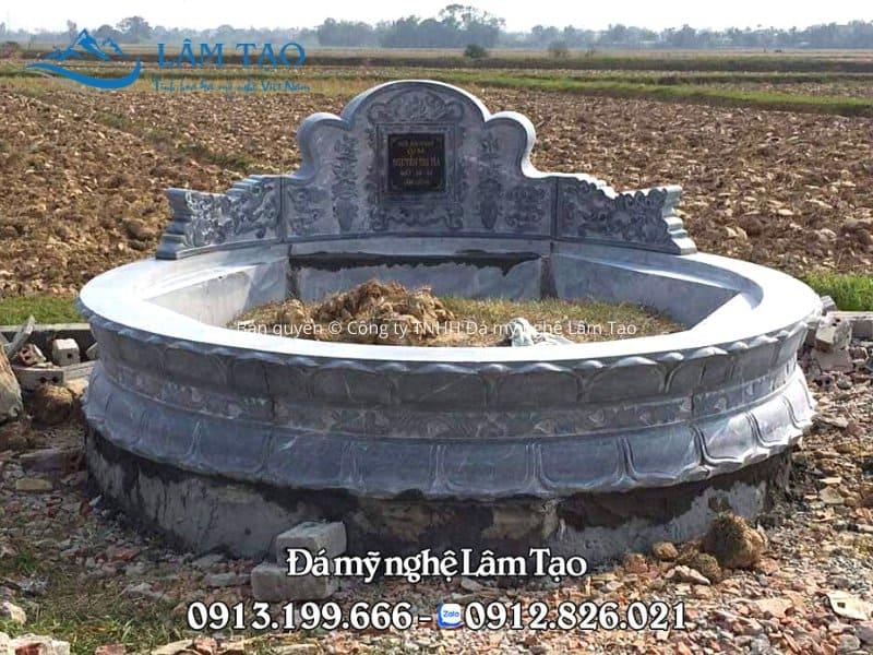 Cách xây mộ tròn